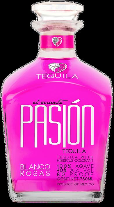 Tequila Pasion Blanco Rosas