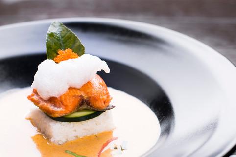 Salmon Panang Curry