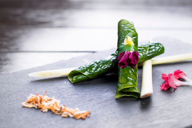 Thai Leaf Wrap Salad Bites