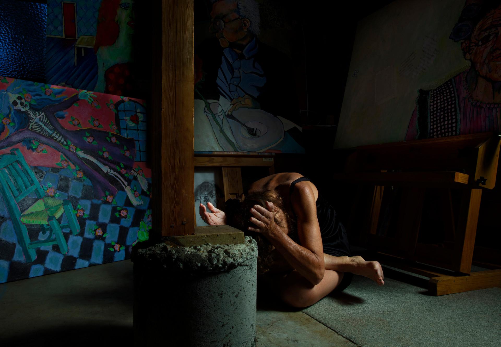 Harriet Garfinkle/ Dancer/ Painter