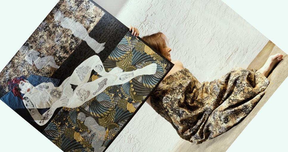 Adriane Dedic/Textile Mixed Media Artist