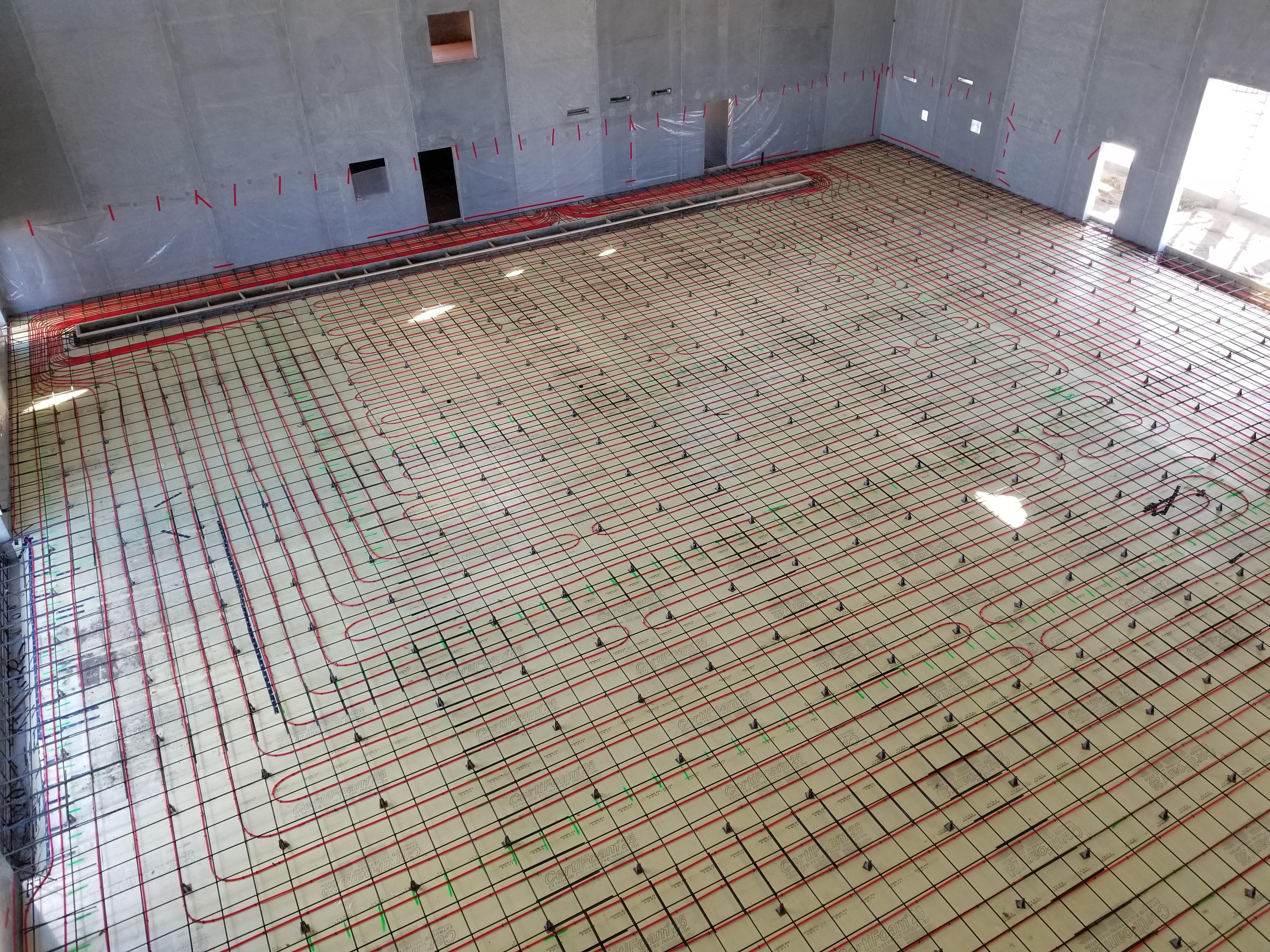 Seed plant floor