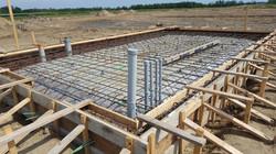 Lagoon pump building floor