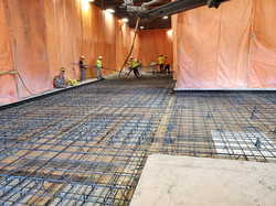Structural floor for Laser table and mat