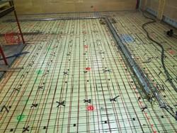 Prepped Firehall floor