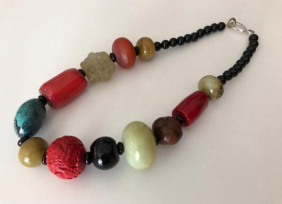 Mixed large beads
