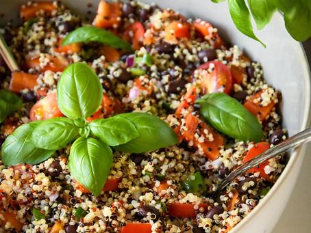 Sommerlicher Quinoa - Salat