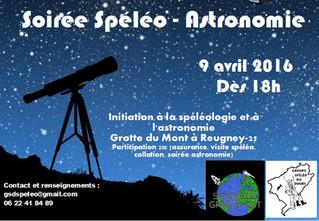 Spéléologie et Astronomie