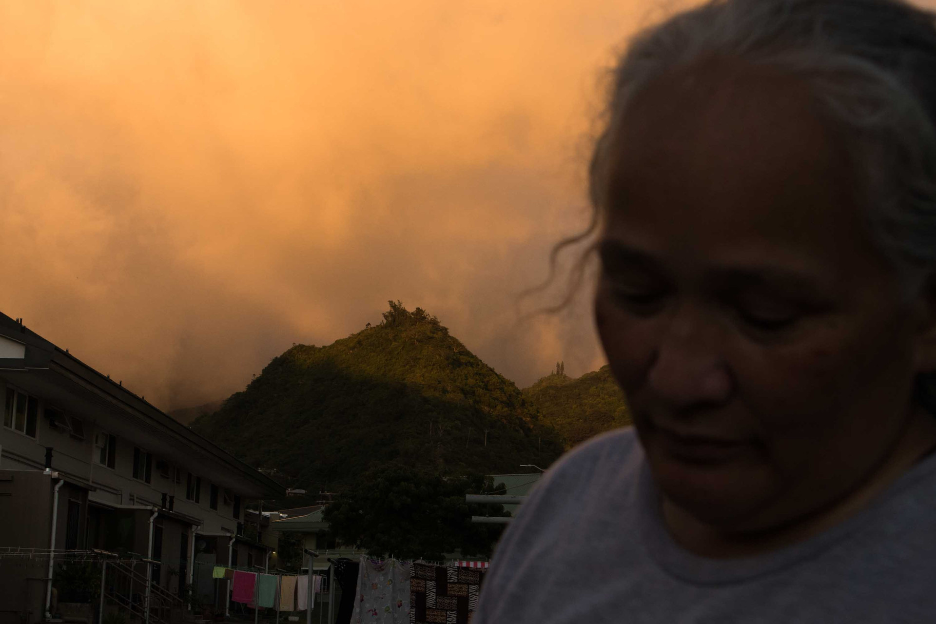 """According to Kihano """"I have lived other places but I have always come back here (Palolo Valley). Where can you live with the mountains around you? You know you are close by the town and out of the direct flow of traffic. So can't get better than this."""""""