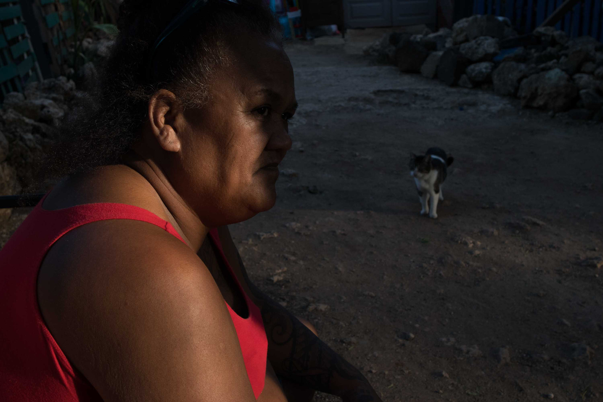 """Twinkle Borge, leader of Pu'uhonua O Wai'anae has been living there since 2003. To her, this place is only place she knew that she can call 'Home."""""""