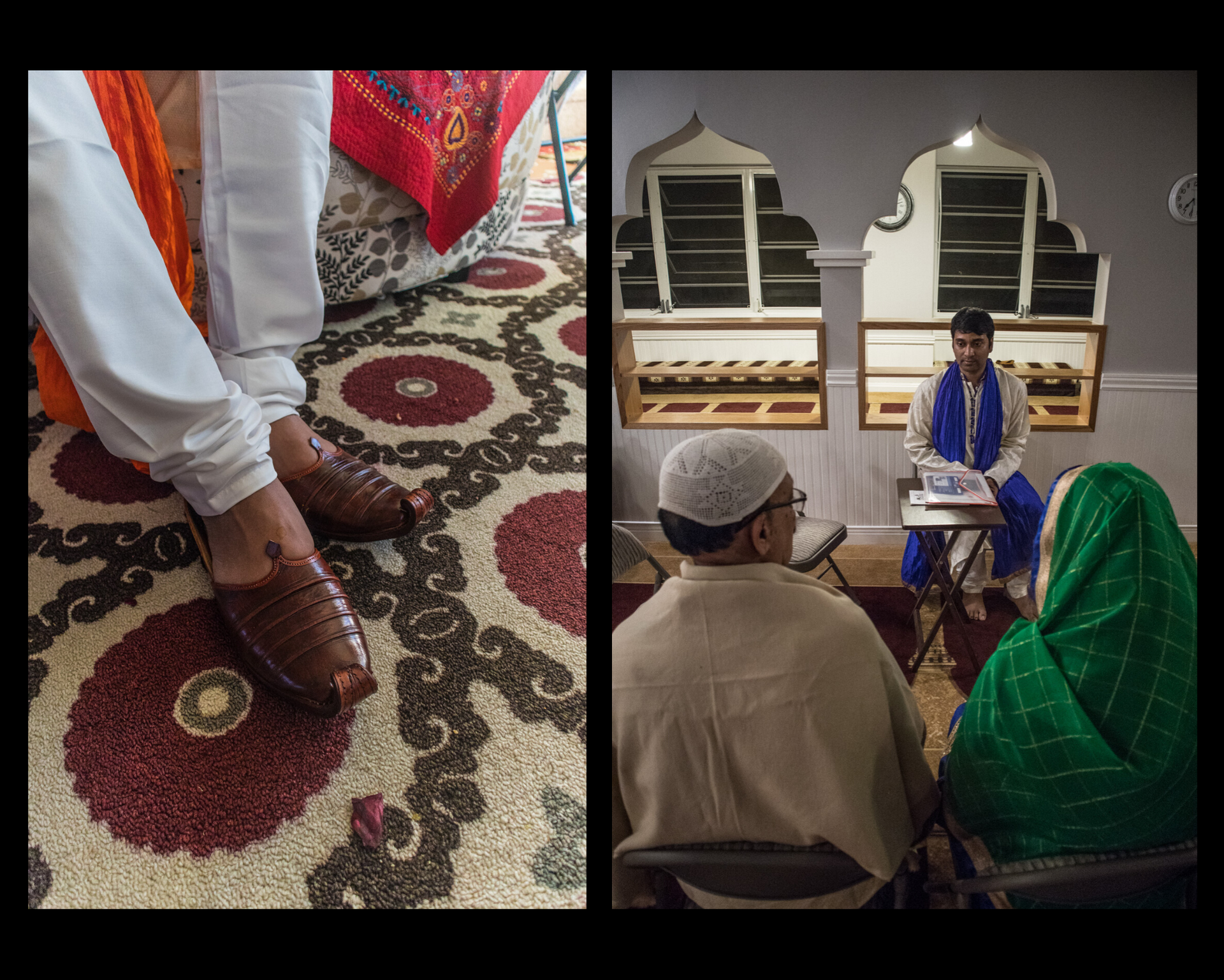 Punjabi and Nagra (traditional footwear)- a traditional outfit of a Bangladeshi wedding for a bridegroom. Except wearing Tuxedo, he is to wear punjabi during the ceremony.
