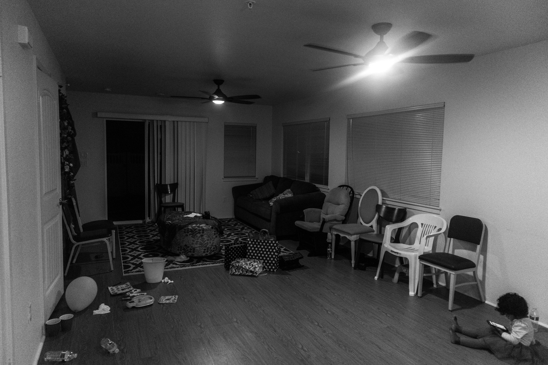 The house which was crowded with all the guests for two days back to backs seemed deserted in just a moment. The ceremony hosted around a hundred people in this compact house staring from the 'Gaye Holud' ceremony and the reception night. Kapolei, HI, December 2017The house which was crowded with all the guests for two days back to backs seemed deserted in just a moment. The ceremony hosted around a hundred people in this compact house staring from the 'Gaye Holud' ceremony and the reception night. Kapolei, HI, December 2017
