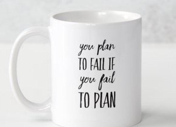 Planning Is Power Mug