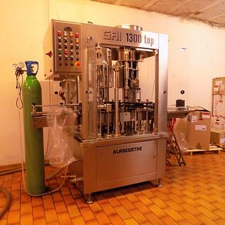 Machine de mise en bouteille