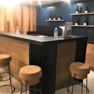 Bar salle de dégustation