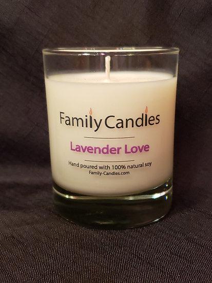 Lavender Love 7.5oz Soy