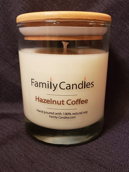 Hazelnut Coffee 12oz Soy