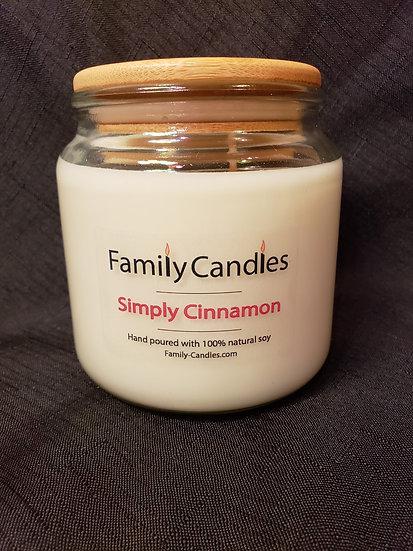 Simply Cinnamon 16oz Soy