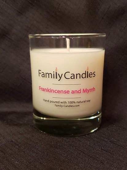 Frankincense and Myrrh 7.5oz Soy
