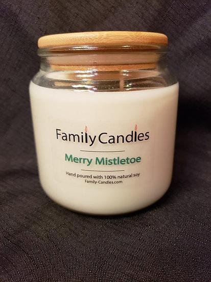 Merry Mistletoe 16oz Soy