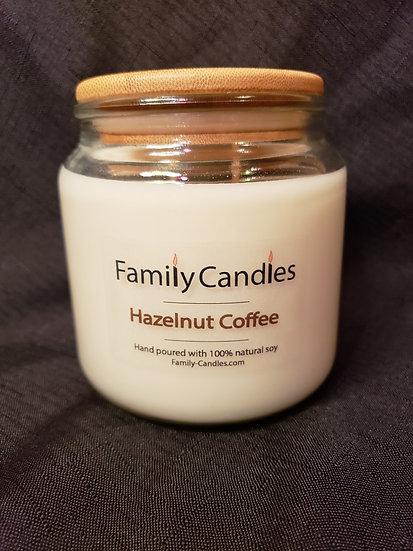 Hazelnut Coffee 16oz Soy