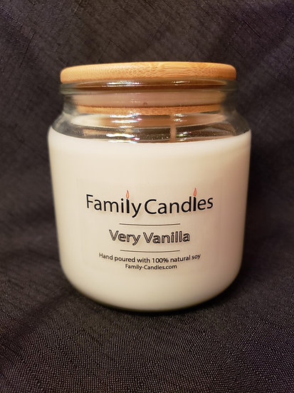 Very Vanilla 16oz Soy