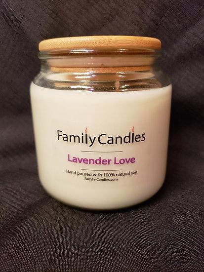 Lavender Love 16oz Soy