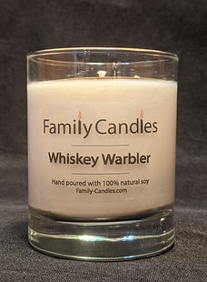 Whiskey Warbler Soy Candle 7.5oz