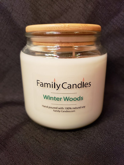 Winter Woods 16oz Soy