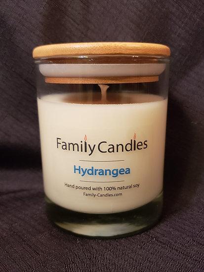 Hydrangea 12oz Soy