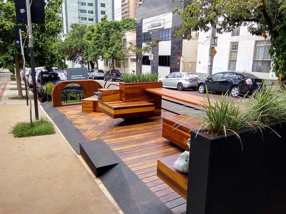 Parklet Terrazzas Construtora