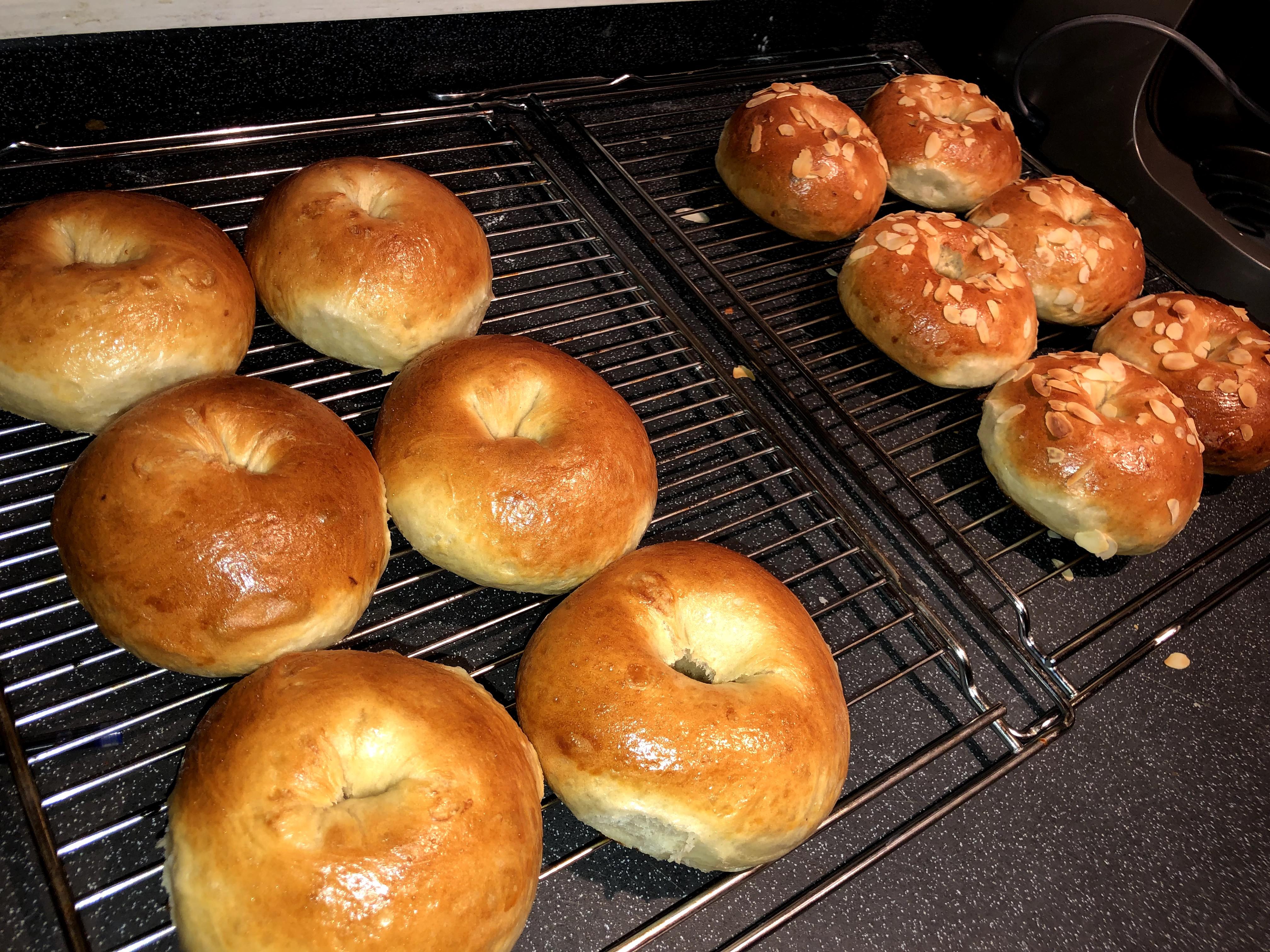 Luscious Almond Bagels