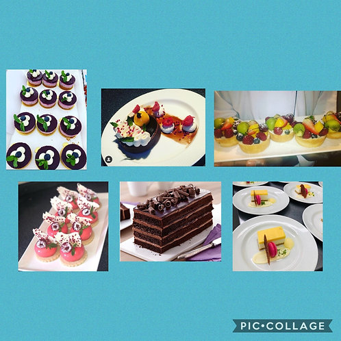 Variety Desserts Boxes x8