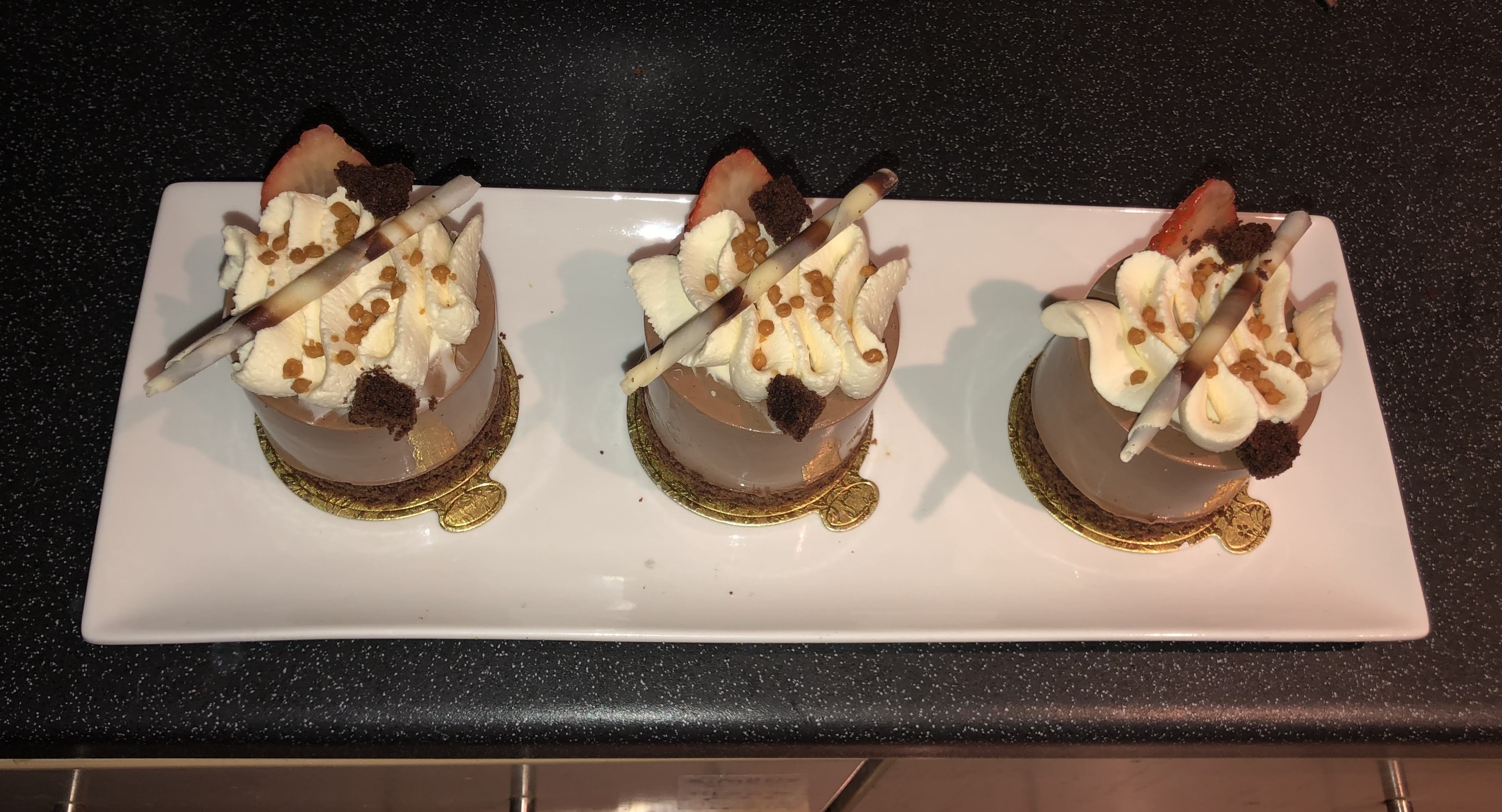 Chocolate Mousse Cups