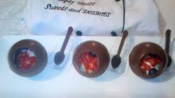 Sphere chocolate balls