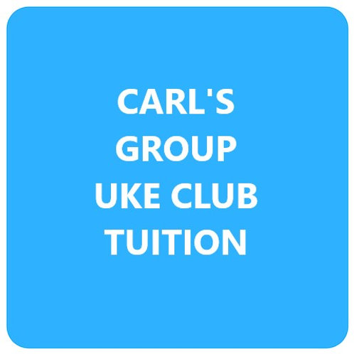 Carl's Group Uke Club Tuition