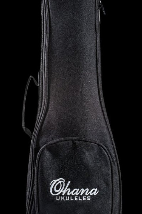 Ohana Ukulele UB-27 Black Gig Bag Tenor