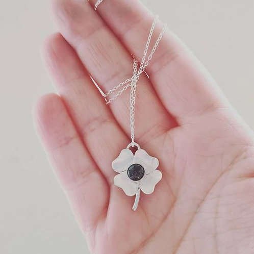 *New Product* Sterling silver Clover pendant