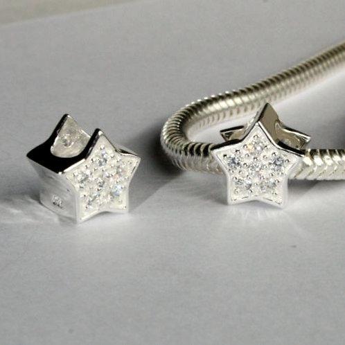 Crystal Star bead