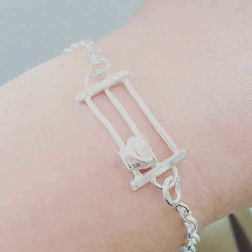 Sterling silver Fence Bracelet