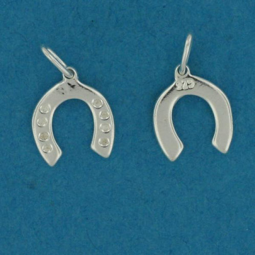 Horse shoe charm sterling silver