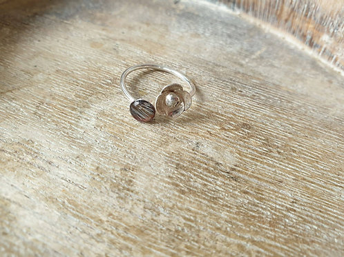 Sterling silver Jane ring