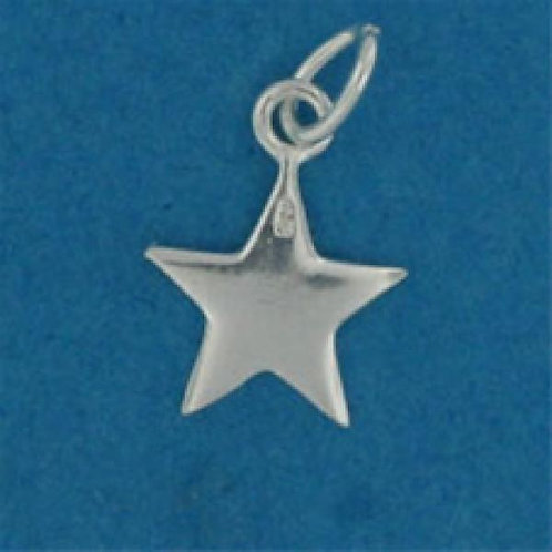 Solid star charm