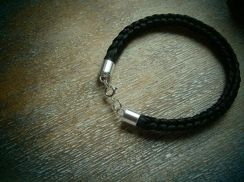 Heritage braid wide barrel bracelet