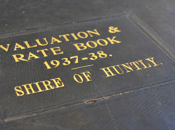 Huntly Rate Books