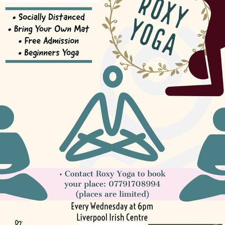 Roxy Yoga at Liverpool Irish Centre