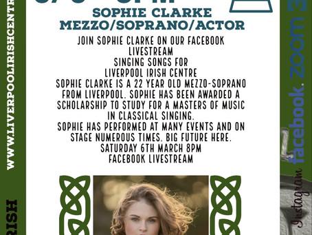 Sophie Clarke - Intro/Online Event Announcement