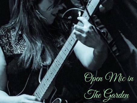 Cathy Carter - Open Mic In The Garden