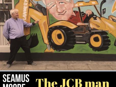 Seamus Moore - The JCB man at Liverpool  Irish Centre