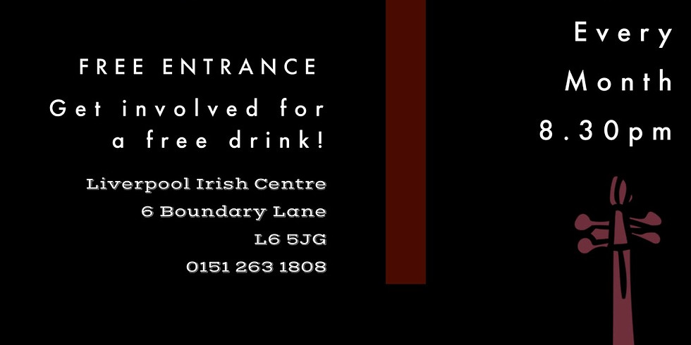 Traditional Sessions at Liverpool Irish Centre